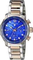 Swiss Legend Women's SL-16188SM-SR-33 Blue Geneve Stainless Steel Watch