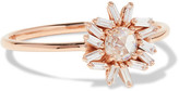 Suzanne Kalan 18-karat Rose Gold Diamond Ring - 6