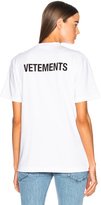 Vetements Basic Tee