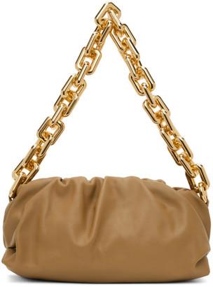 Bottega Veneta Brown The Chain Pouch Clutch