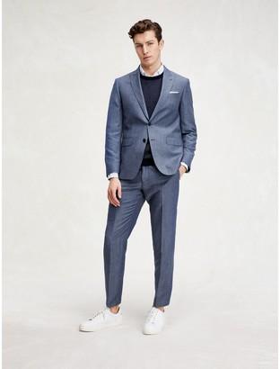 Tommy Hilfiger Slim Fit TH Flex Herringbone Suit