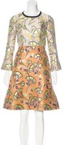 Marni Brocade A-Line Dress w/ Tags