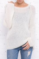Wooden Ships Lightweight Chunky Crew Sweater