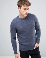 New Look Lambswool Jumper In Blue