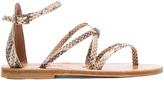 K. Jacques Epicure Leather Sandals