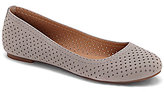 Lucky Brand Everlee Perforated Nubuck Leather Ballet Flats