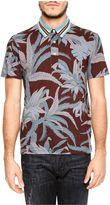 Valentino Cuba Palm Polo Shirt
