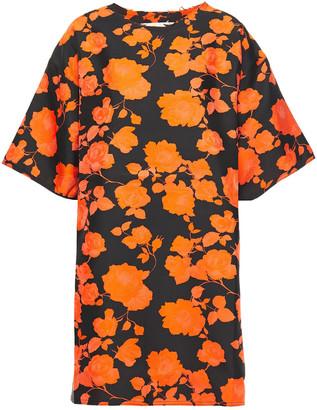 Marques Almeida Floral-jacquard Mini Dress