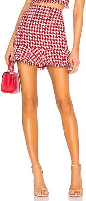 Lovers + Friends Tessie Mini Skirt