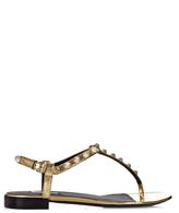 Balenciaga Giant studded T-bar leather sandals