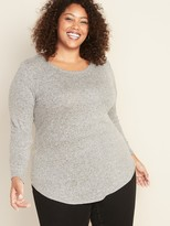 Old Navy Relaxed Plus-Size Plush-Knit Tunic Tee