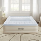 """Simmons Lumbar Supreme Adjustable Comfort Raised Express 18"""" Air Mattress with Built in Pump Size: Queen"""
