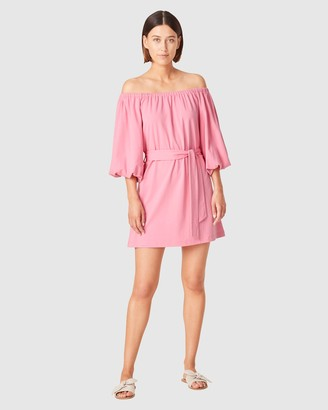 French Connection Women's Dresses - Off Shoulder Jersey Dress - Size One Size, XL at The Iconic