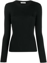 Balenciaga ribbed knitted jumper