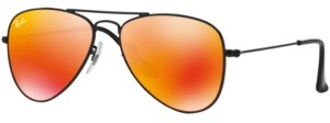 Ray-Ban Junior Sunglasses, RJ9506S Aviator Mirror