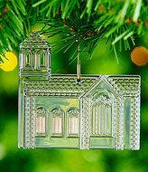 Waterford Crystal Dimensional Church Ornament