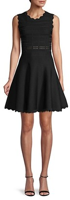 Yigal Azrouel Fit Flare Dress