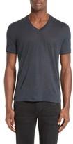John Varvatos Men's Collection V-Neck Linen T-Shirt