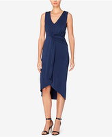 Catherine Malandrino Paola Draped Asymmetrical Dress