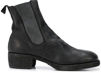 Guidi relaxed Chelsea boots