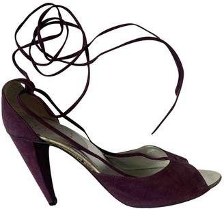 Chloé Purple Suede Heels