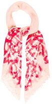 Kenneth Jay Lane Abstract Print Scarf