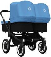 Bugaboo Donkey Twin Stroller Bundle - Ice Blue - Black Base
