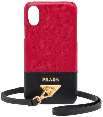 Prada My Character Leather Iphone Cover