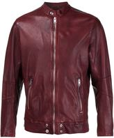 Diesel zipped leather jacket