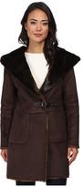 Lauren Ralph Lauren Faux Sherling Coat