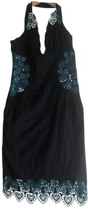 Catherine Malandrino Black Cotton Dress for Women