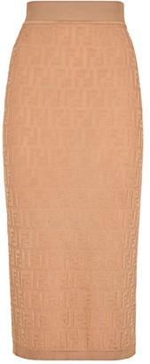 Fendi FF Midi Skirt