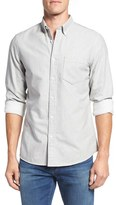 Nordstrom Brushed Twill Sport Shirt (Big)