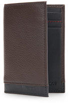 Tumi Chocolate Monroe Folding Card Case