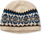 Ralph Lauren Fair Isle Cotton-Wool Hat