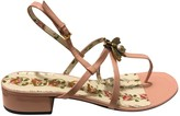 Gucci Pink Patent leather Sandals