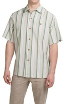 Tommy Bahama Al Dente Stripe Silk Shirt - Short Sleeve (For Men and Big Men)