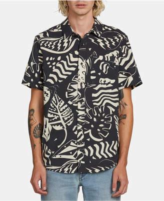 Volcom Men Scrap Floral Woven Shirt