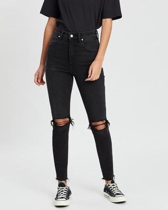 Wrangler Hi Pins Cropped Jeans