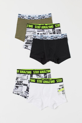 H&M 5-pack Boxer Shorts - White