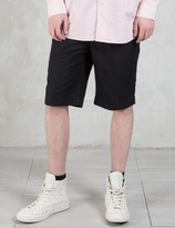 Our Legacy Cotton Linen Relaxed Shorts