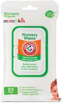 Munchkin 45054 Arm and Hammer Nursery Wipes, 24 Pack