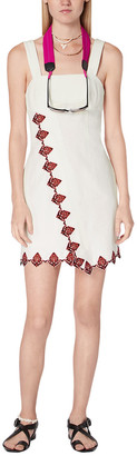Derek Lam 10 Crosby Inia Embroidered Cami Mini Dress