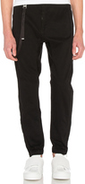 Helmut Lang Curved Leg Track Pant Chino