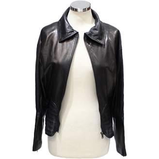 Jitrois Black Leather Jackets