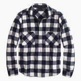 J.Crew Buffalo check shirt-jacket