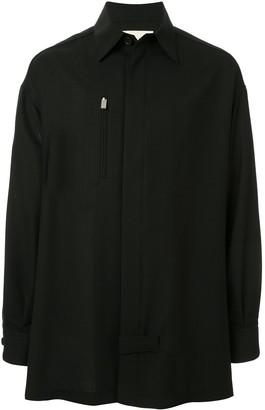 Alyx Zipped Pocket Pinstripe Shirt Jacket