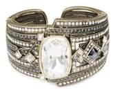 Heidi Daus Lux Hematite Cuff Bracelet