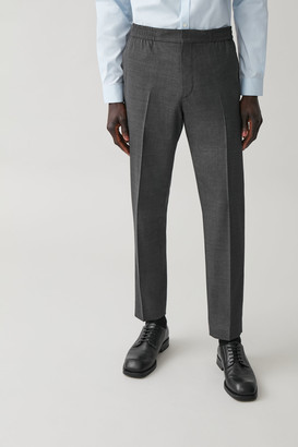 Cos Elasticated Tailored Trousers