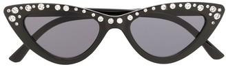 MonnaLisa Crystal Studded Sunglasses